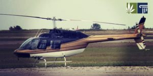 Low-Flying Helicopter Used to Smuggle Cannabis from Canada to US