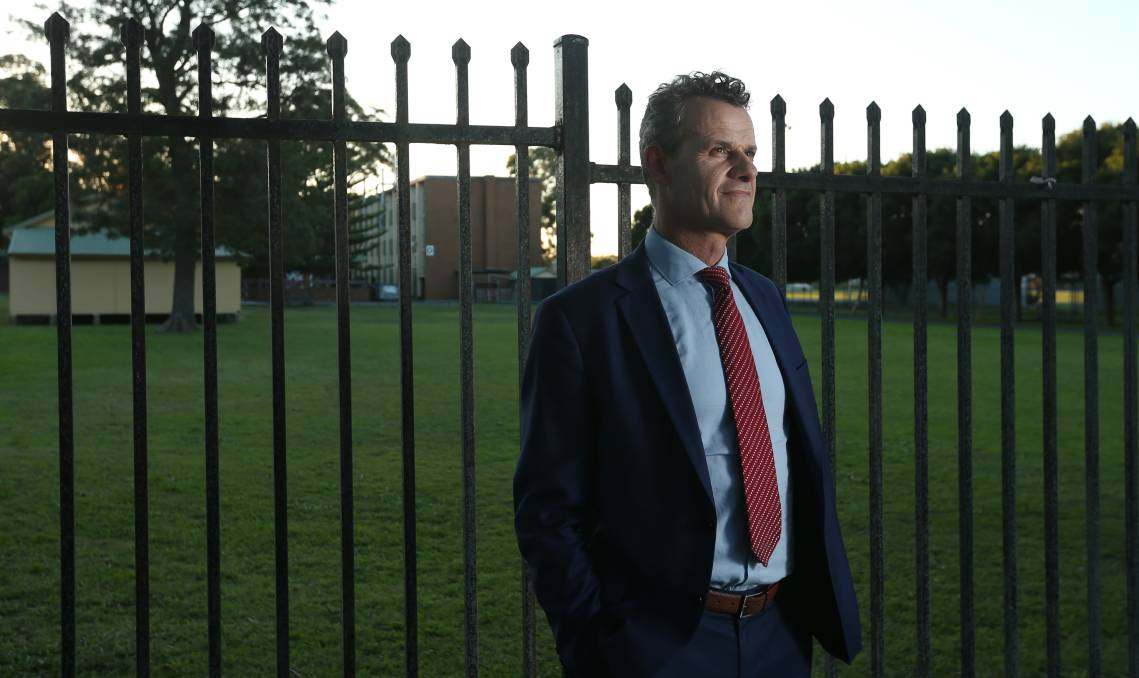 """Breaking Down Barriers: Newcastle MP Tim Crakanthorp said the cannabis data """"strengthens the argument that our drug laws need to change"""". Picture: Simone De Peak"""