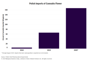 Polish medical cannabis market growing rapidly but remains very small