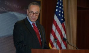 Senate leader Schumer pushing federal marijuana legalization as priority
