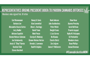 Document: 37 Members Of Congress Sign Letter To Biden On Cannabis Pardons