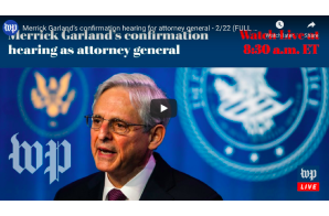 February 22 2021: Merrick Garland's confirmation hearing for attorney general (FULL LIVE STREAM)