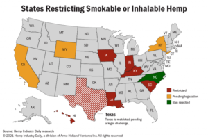 Indiana House signs off on smokable hemp