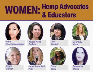 Celebrating Women in Hemp – Advocates & Educators Edition