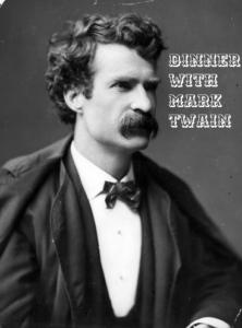 "Greg Huffaker III From Canna Advisor: His ""Dinner With Mark Twain"""