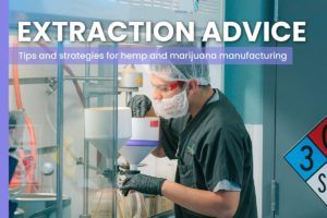 How to cut costs and make your cannabis extraction operation more efficient