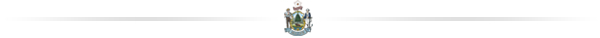 A divider image featuring the State of Maine seal.