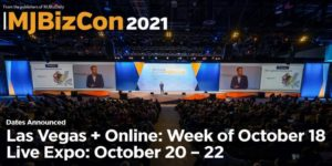 MJBizCon announces return to Las Vegas Oct. 20-22