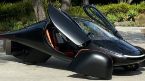 Solar-powered car made with hemp components to begin production by year's end