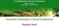 2021 Cannabis Cultivation Virtual Conference