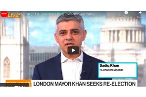 UK London Mayor Khan on Cannabis , EU Equivalence Deal, Reelection,