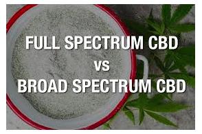 Full Spectrum CBD Versus Broad Spectrum CBD