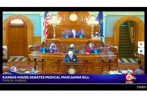 May 7 2021: Debate in Kansas House on legalizing medical marijuana in state