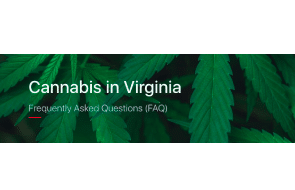 Cannabis In Virginia – Govt FAQ Website & Pages Published