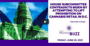 House Subcommittee Contradicts Biden by Attempting to Lift Prohibition on Cannabis Retail in D.C.