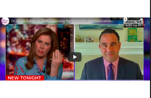 Dr. Kevin Sabet on CNN Opposing the Cannabis Administration and Opportunity Act