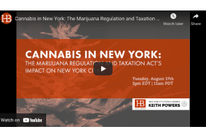 Harris Bricken: Cannabis in New York: The Marijuana Regulation and Taxation Act's Impact on New York City