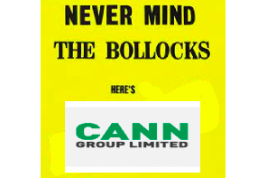 The Scott of Pot At It Again.. Cann Group aiming for over-the-counter CBD approval in late 2022