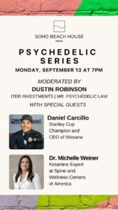 Florida: Psychedelics Expert Dustin Robinson to Host Monthly Psychedelic Series