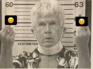 Granny Flips Off Police in Mugshot After Cannabis Farm Bust