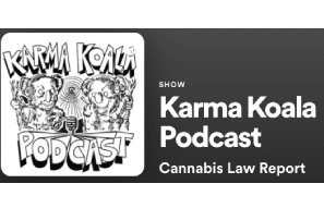 """Karma Koala Podcast Episode 38… This week Heather. speaks with Jim Plamondon the author of""""Precision Fermented Cannabinoids: Disrupting Cannabis Extracts and lawyer Rod Kight of Kight Law."""