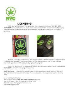 New York City sues 'New York Cannabis' designer over trademarks