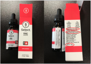 OLCC Expands Recall of Cura Select Tinctures Tincture labeled as containing THC doesn't contain THC