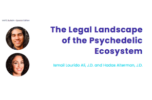 Published at MAPS – The Legal Landscape of the Psychedelic Ecosystem
