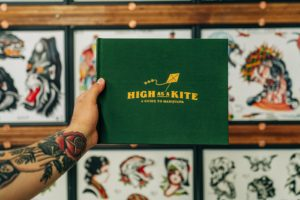 Stoners Fly 'High as a Kite' with New Marijuana Tattoo Collection Book