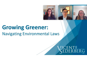 Watch: Growing Greener: Navigating Environmental Laws in the Cannabis Industry